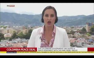 SEÑAL AL AIRE SKY: PROCESO PAZ COLOMBIA